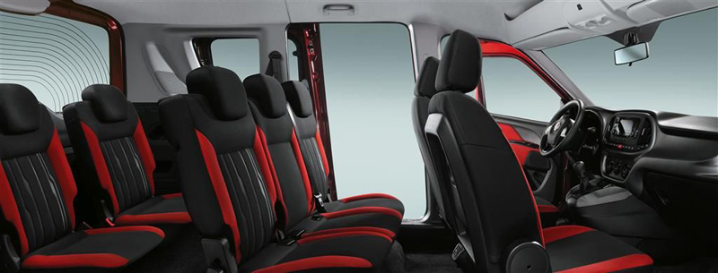 fiat doblo panorama coches 7 plazas. Black Bedroom Furniture Sets. Home Design Ideas