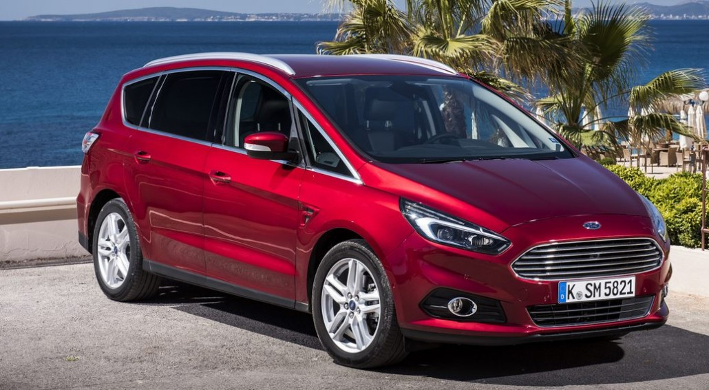 Ford S-Max coche familiar de 7 Plazas Vista exterior